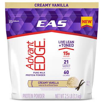 EAS AdvantEDGE Protein Powder, Vanilla, 2.5 lbs.