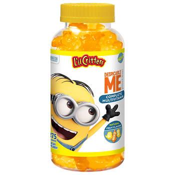 L'il Critters Minions Complete Gummy Multivitamins, 275 ct.