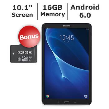 "Samsung Galaxy Tab A 10.1"" Tablet, 16GB Memory, Bonus 32GB microSD Card"
