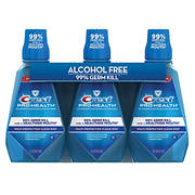 Crest Pro-Health Multi-Protection Clean Mint Mouthwash, 3 pk./1L