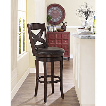 Pennsylvania House Berlin Barstool with Nailhead Trim