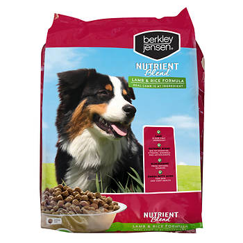 Berkley Jensen Nutrient Blend Lamb and Rice Dry Dog Food, 44 lbs.
