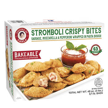 Cucina di Carla Stromboli Crispy Bites, 45 ct.