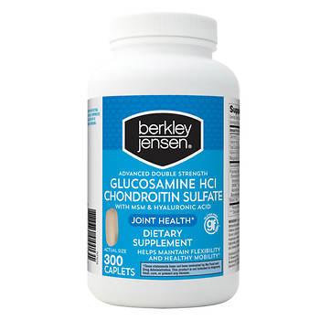 Berkley Jensen Double Strength Glucosamine Chondroitin, 300 ct.