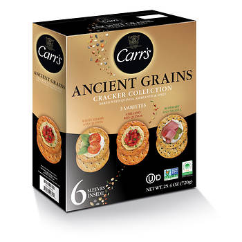 Carr's Ancient Grains Cracker Collection, 25.4 oz.