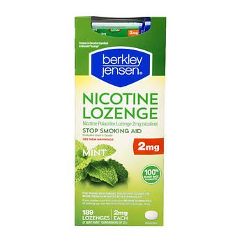 Berkley Jensen Mint Nicotine Lozenge, 198 ct./2mg