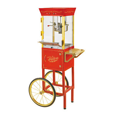 Nostalgia Electrics Vintage Collection Circus Cart Popcorn Maker