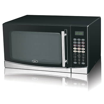 Oster 1.3-Cu.-Ft. 1,100W Microwave with Grill Function