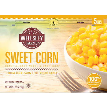 Wellsley Farms Sweet Cut Corn, 5 lbs.