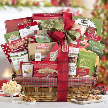 Gourmet Gift Basket: Luxury Edition