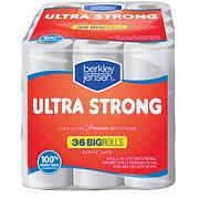 Berkley Jensen 187-Sheet Ultra Strong Bath Tissue, 36 pk.