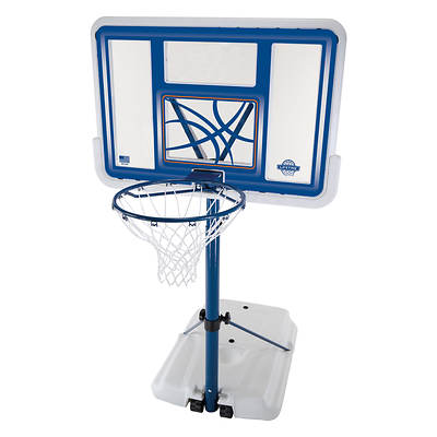Lifetime Fusion 44 Telescoping Portable Poolside Basketball System