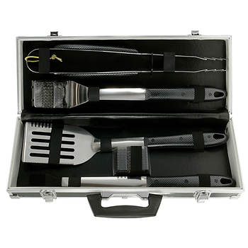 Mr. Bar-B-Q 6-Pc. Stainless Steel Tool Set with Case