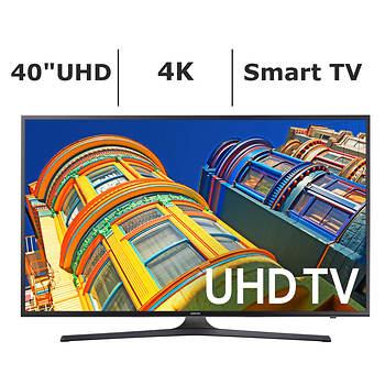 "Samsung UN40KU6290 40"" 4K UHD Smart LED TV"