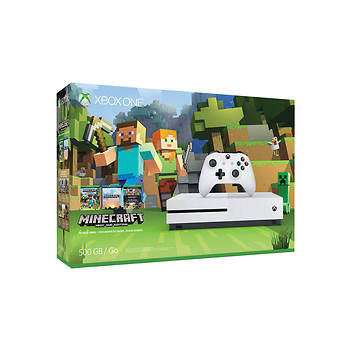 Xbox One S Minecraft 500GB Console Bundle