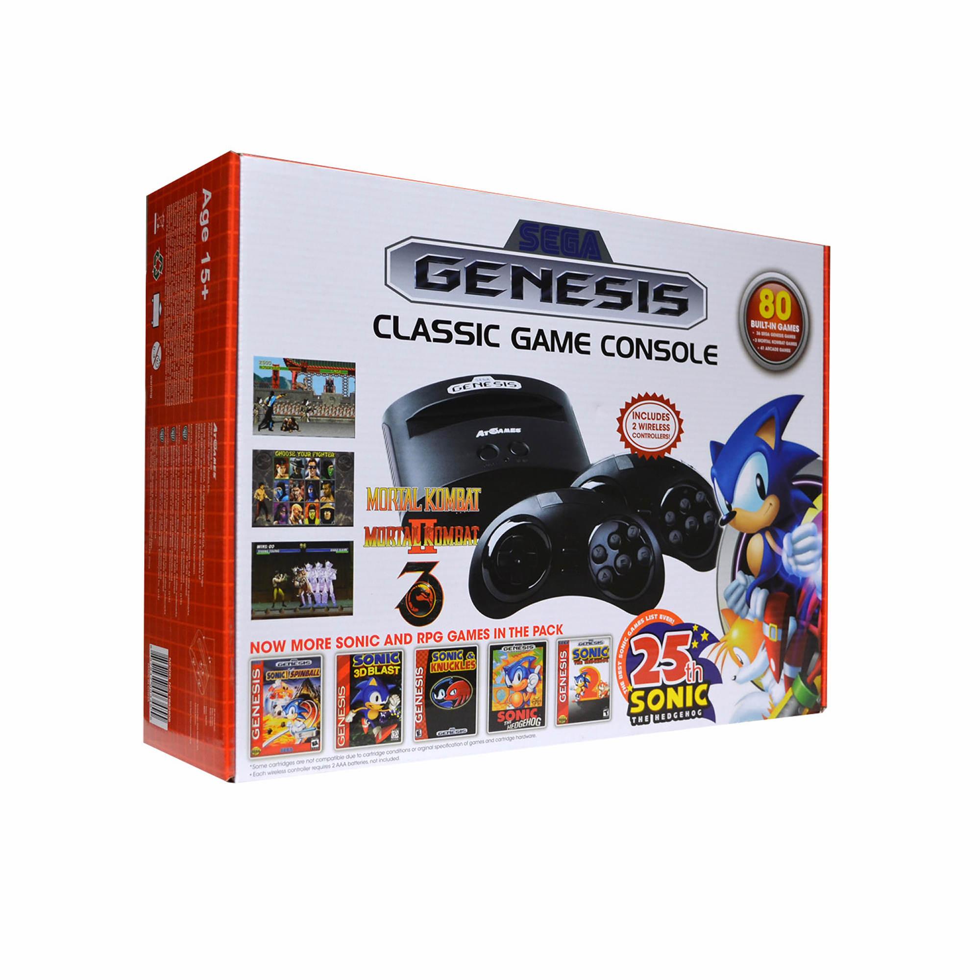 Sega genesis classic game console bj 39 s wholesale club - Sega genesis classic game console games ...
