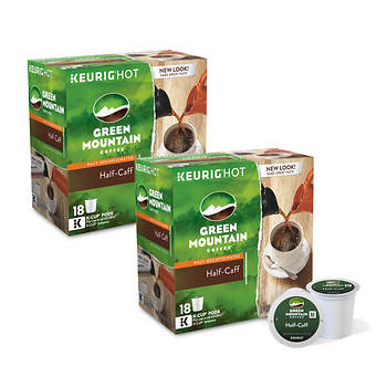 Green Mountain Coffee Half-Caff K-Cups, 180 ct.