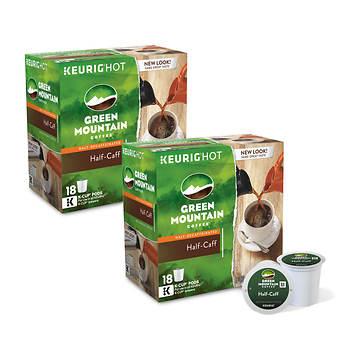 Green Mountain Coffee Half-Caff K-Cups, 180 ct.