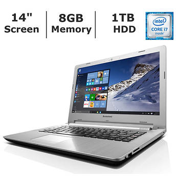 Lenovo Z41-70 Laptop, Intel Core i7, 8GB Memory, 1TB Hard Drive, 2GB Graphics