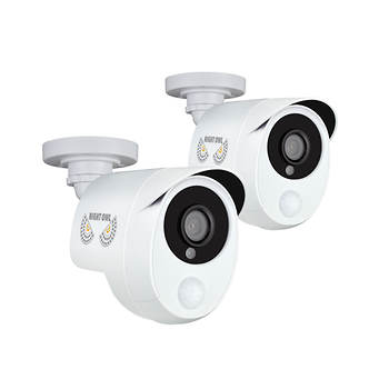 Night Owl 1080p Wired Infrared Bullet Cameras, 2 pk.