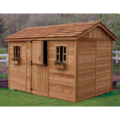 Outdoor Living Today Cabana 8' x 12' Garden Shed