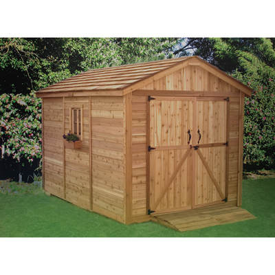 Outdoor Living Today SpaceMaker 8' x 12' Storage Shed