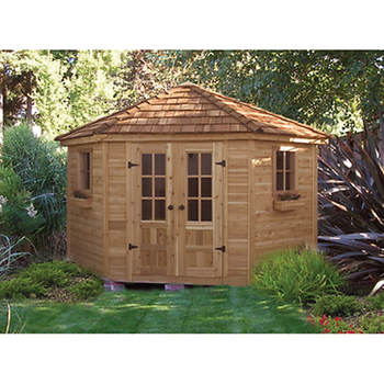 Outdoor Living Today Penthouse 9' x 9' Garden Shed