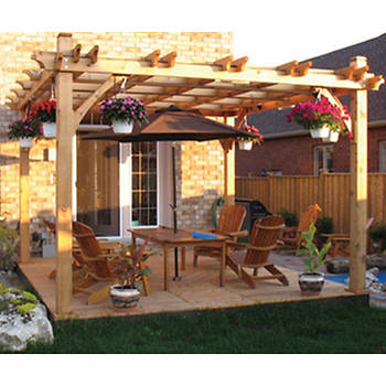 Outdoor Living Today Breeze Western Red Cedar 8' x 10' Pergola