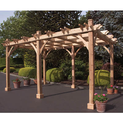 Outdoor Living Today Breeze Western Red Cedar 12' x 16' Pergola