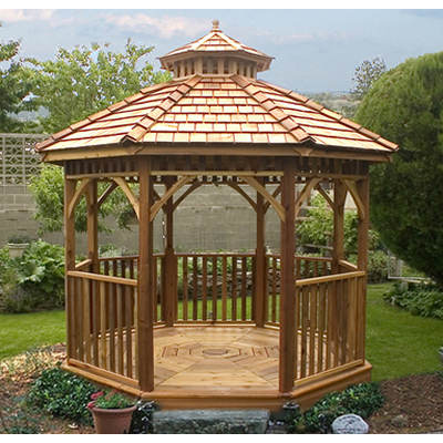 Outdoor Living Today BaySide 10' x 10' Octagon Gazebo