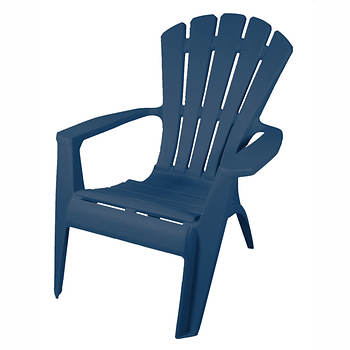 Gracious Living Resin Adirondack Chair - Assorted