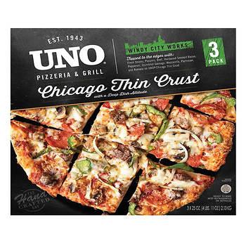 Uno Pizzeria & Grill Chicago Thin Crust, 3 ct.