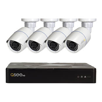 Q-See 4-Channel 4-Camera 4MP Security System with 2TB HDD NVR