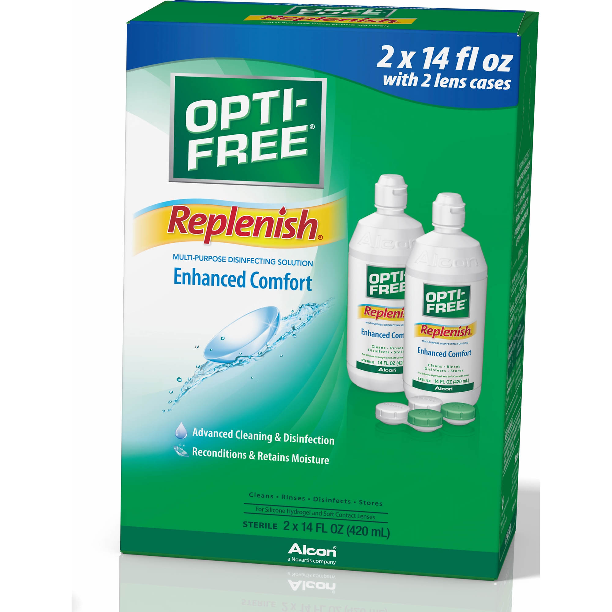 Opti-Free® PureMoist® Solution contains our unique HydraGlyde® Moisture Matrix. It cushions the lens with a shield of moisture that lasts from morning 'til night. Certain ingredients in Opti-Free® PureMoist® solution are exclusive to the Opti-Free® Brand/5(9).