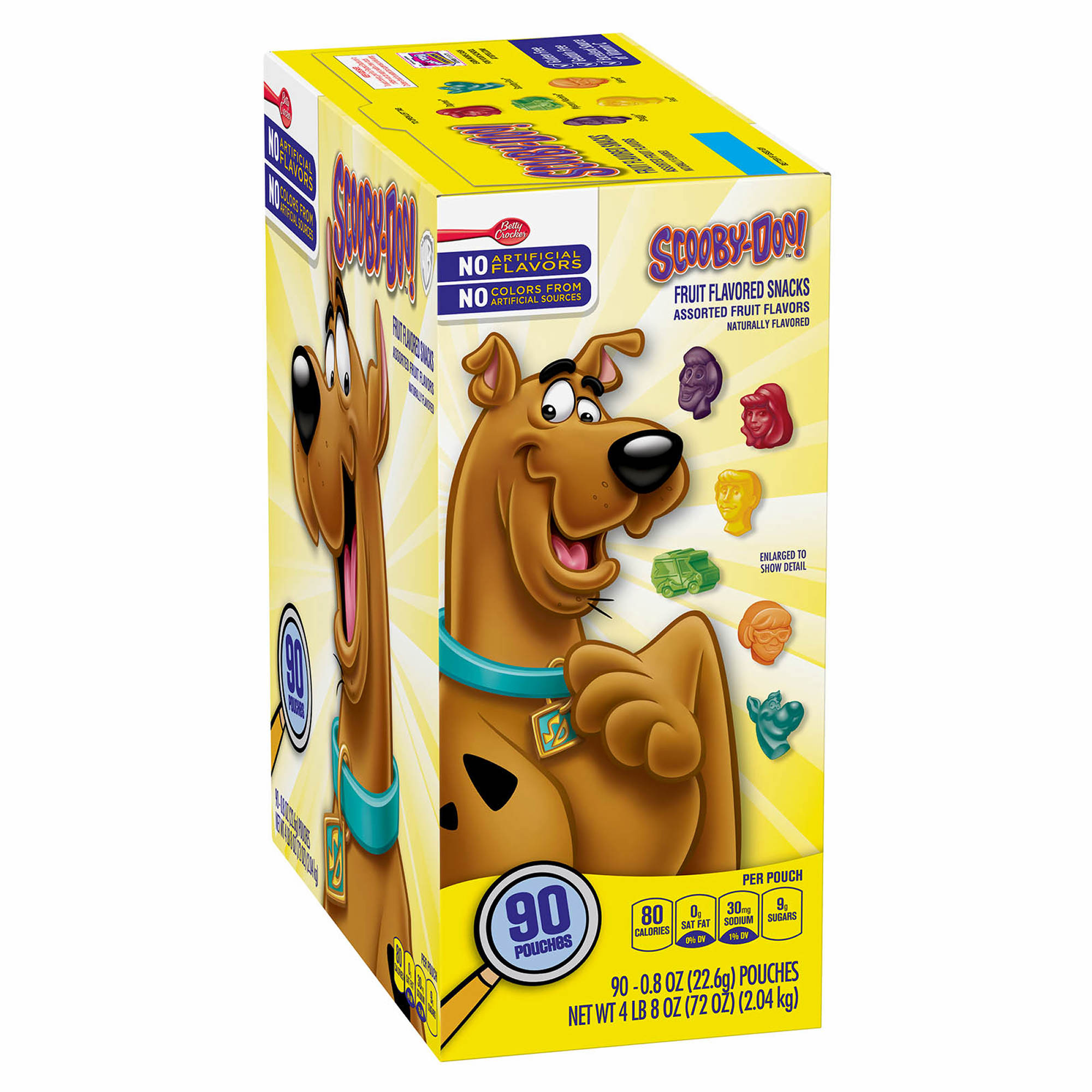 Scooby Doo Bedroom Accessories Betty Crocker Scooby Doo Fruit Snacks 90 Ct Bjs Wholesale Club