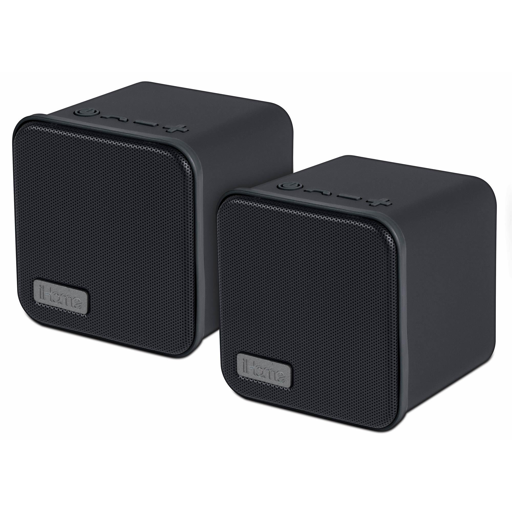 Ihome Bluetooth Stereo Speaker Pair Bj 39 S Wholesale Club