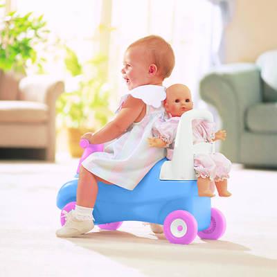 Little Tikes Push & Ride Doll Walker