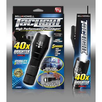 Bell+Howell TacLight High-Performance Flashlight
