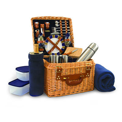Picnic Sport English-Style Willow Picnic Basket for 2