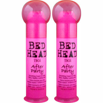 TIGI Bed Head After Party Smoothing Cream, 3.4 Fl. Oz., 2-Pk