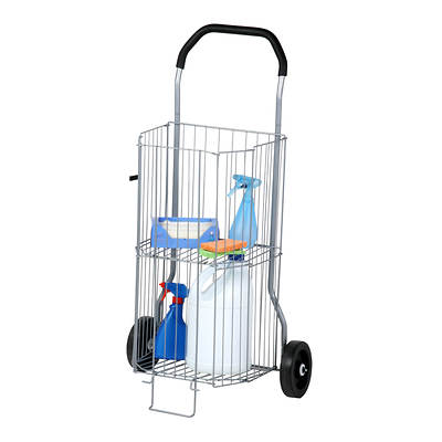 Honey-Can-Do 2-Tier All-Purpose Folding Utility Cart