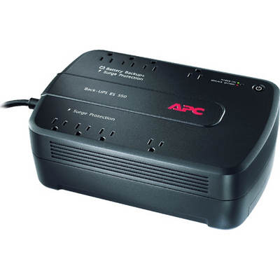 APC Back-UPS 8-Outlet Battery Backup Surge Protector