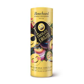 Bouchard Belgian Chocolates Emoji Coins, 35.2 oz.