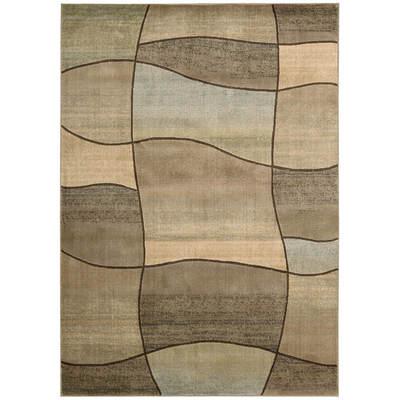 Woolen Touch 8' x 10' Rug - Beige/Geometric