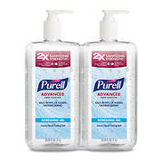 Purell Advanced Hand Sanitizer, 2 pk./1L
