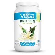 Vega Protein & Greens, Vanilla Flavored, 26.8 oz.