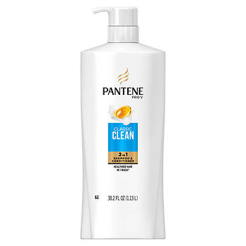 Pantene Pro-V Classic Clean 2-in-1 Shampoo and Conditioner, 38.2 fl. oz.