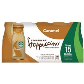 Starbucks Caramel Frappuccino, 15 pk./9.5 oz.