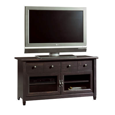 "Sauder Edge Water 44 3/10"" Entertainment Center - Estate Black"
