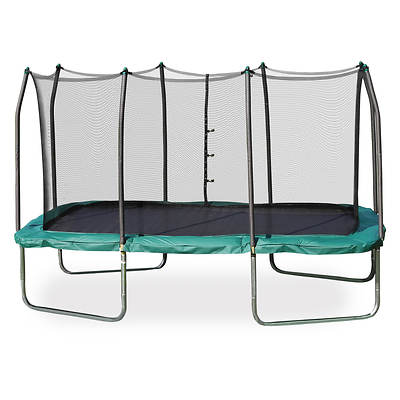 Skywalker Trampolines Summit 8' x 14' Rectangular Trampoline with Safety Enclosure